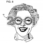 Patent image of 2001 New Year's Eve Glasses